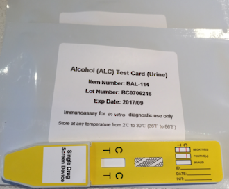 ALCOHOL (alc)  Single Panel